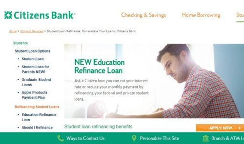 Credible | Citizens Bank Refinancing