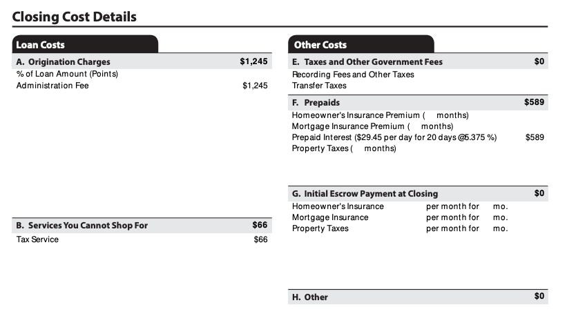 Loan Estimate | See Closing Cost Details, including Estimated Cash to Close on Page 2