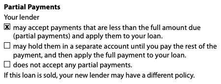 Closing Disclosure | Partial Payment, Page 4