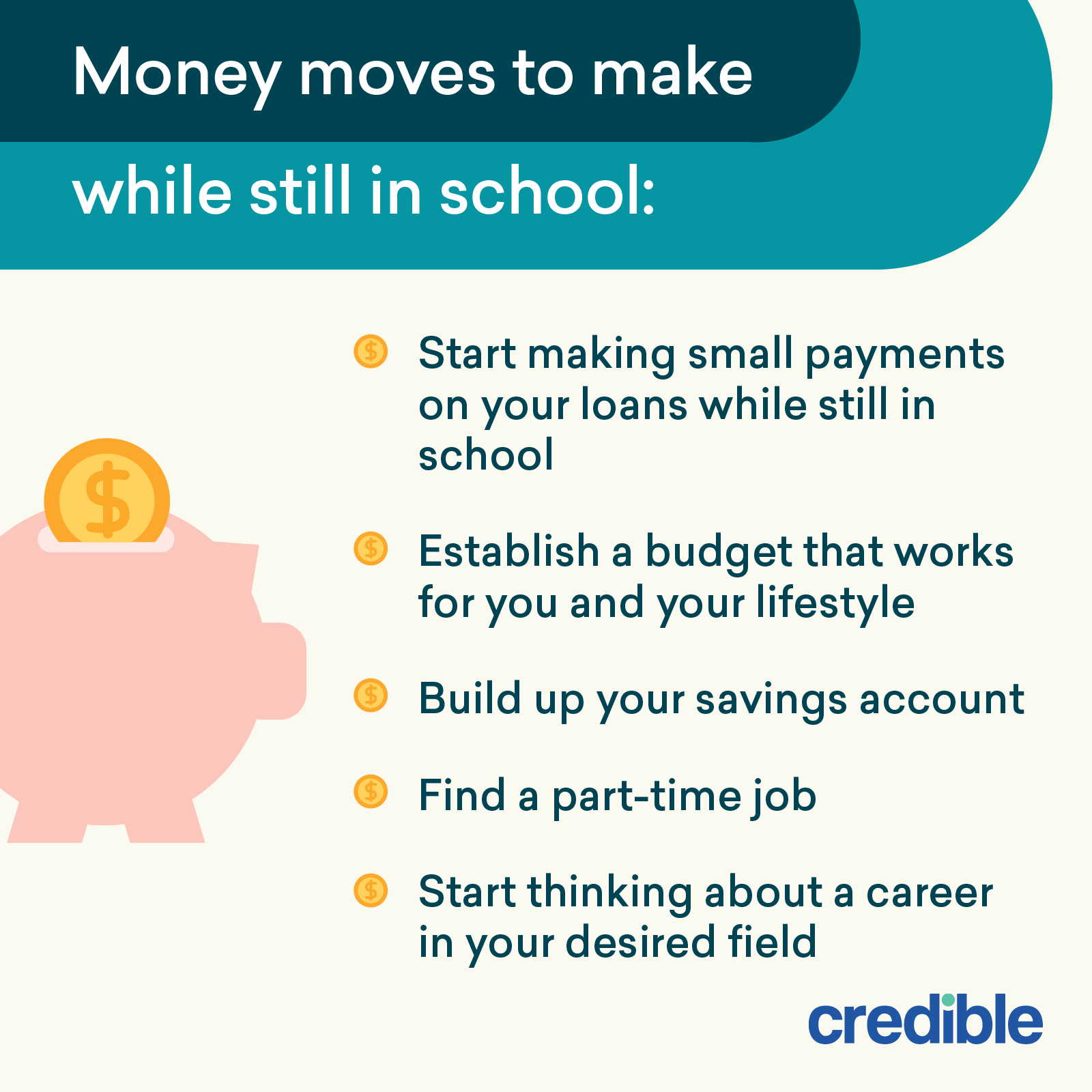 money moves to make while still in school