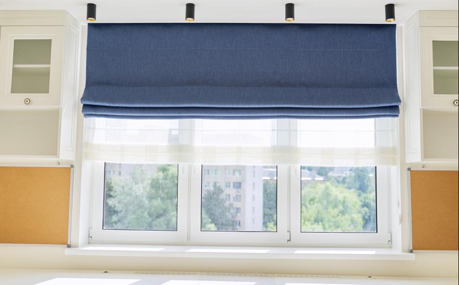 Change your window treatments
