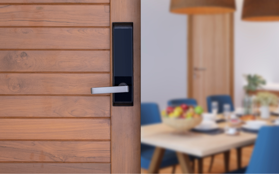 Switch out interior door knobs