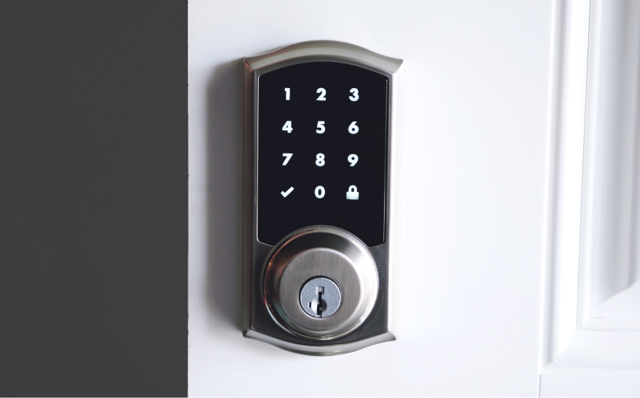 Switch to a smart lock
