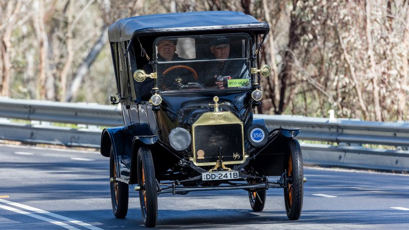 A 1915 Ford Model T near the town of Birdwood, South Australia. Photo credit: Ryan Fletcher/Shutterstock.com.